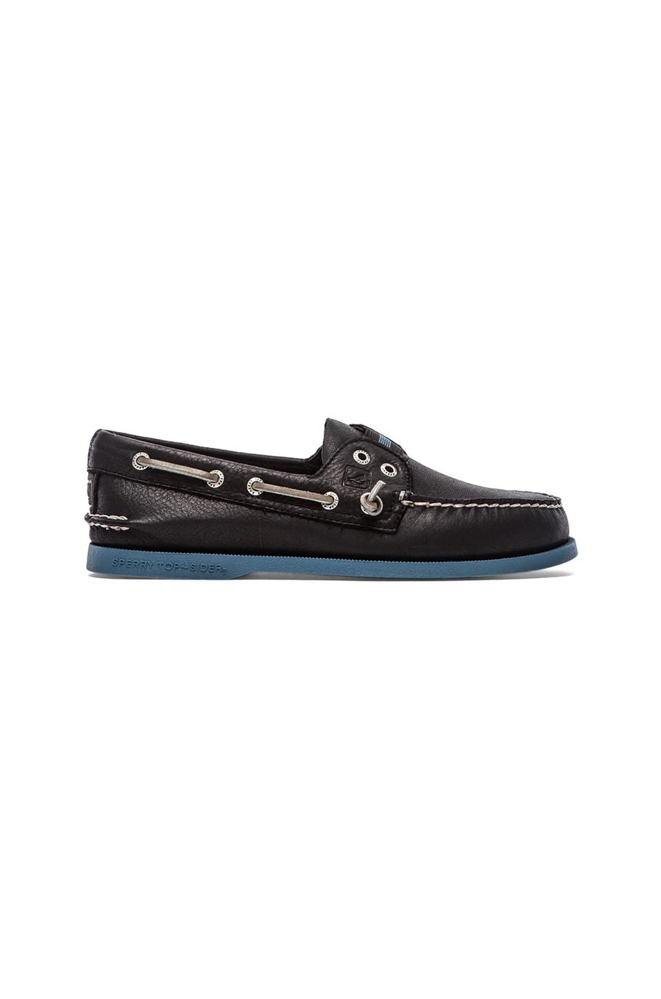 Sperry Top-Sider A/O Gore Colored in Black & Blue