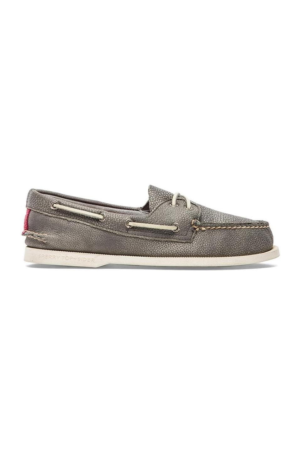 Sperry Top-Sider A/O 2-Eye Washed in Grey