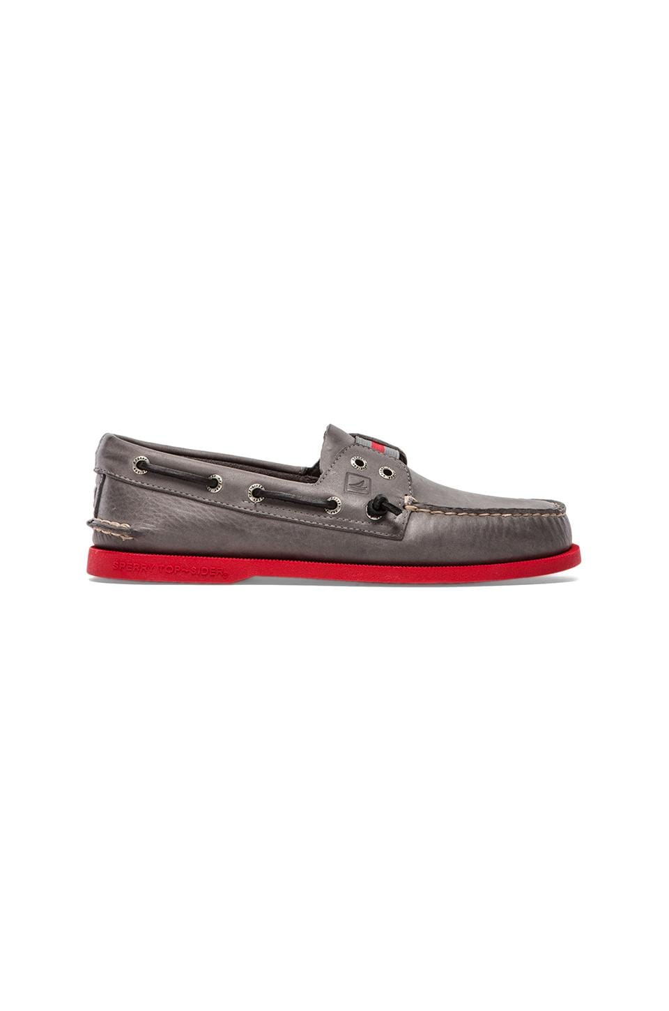 Sperry Top-Sider A/O Gore Colored in Grey & Red