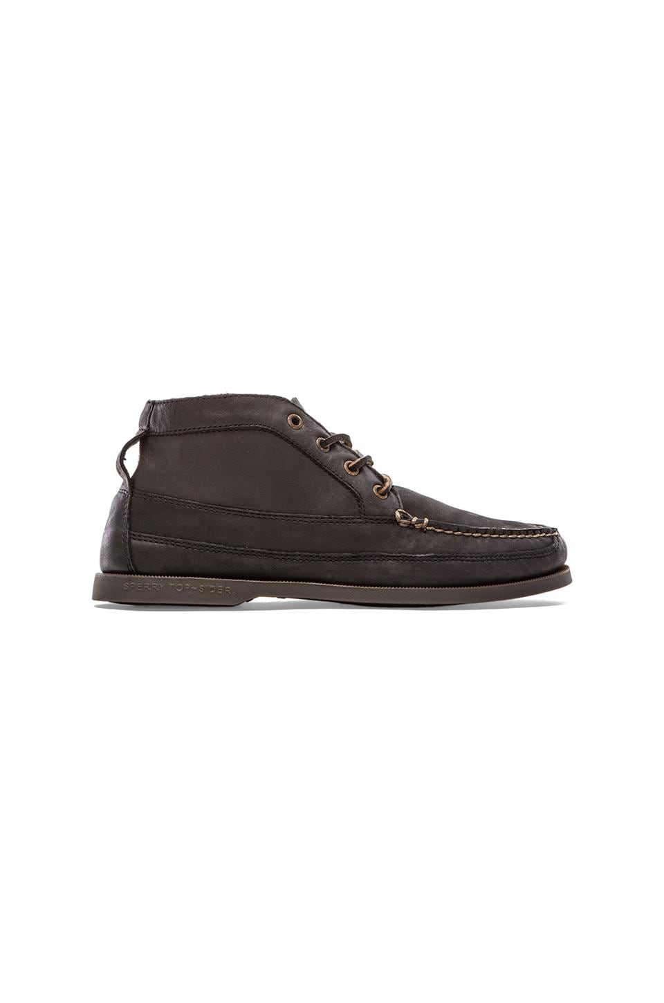 Sperry Top-Sider A/O Boat Chukka in Black