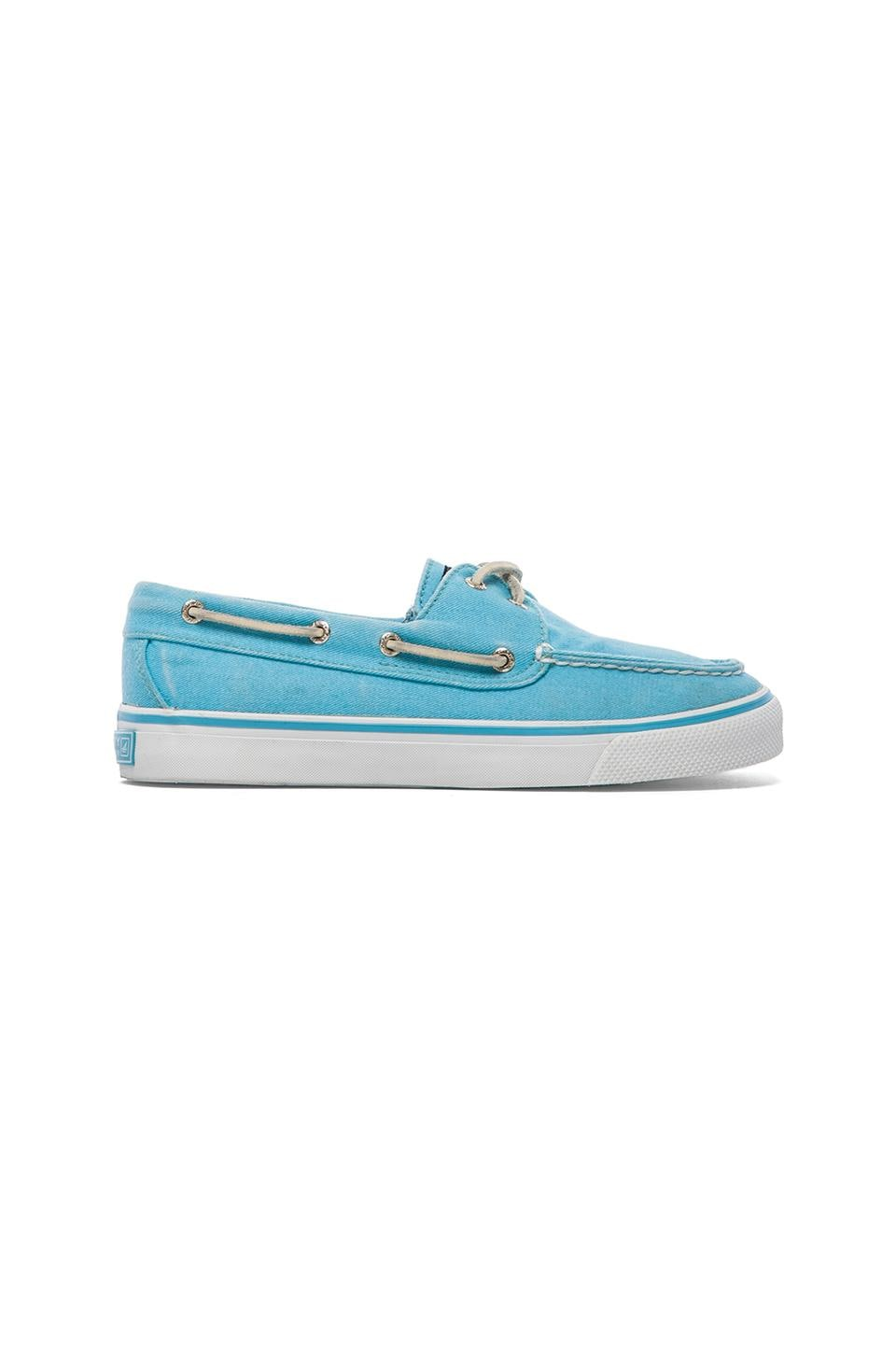 Sperry Top-Sider Bahama 2-Eye in Turquoise Canvas