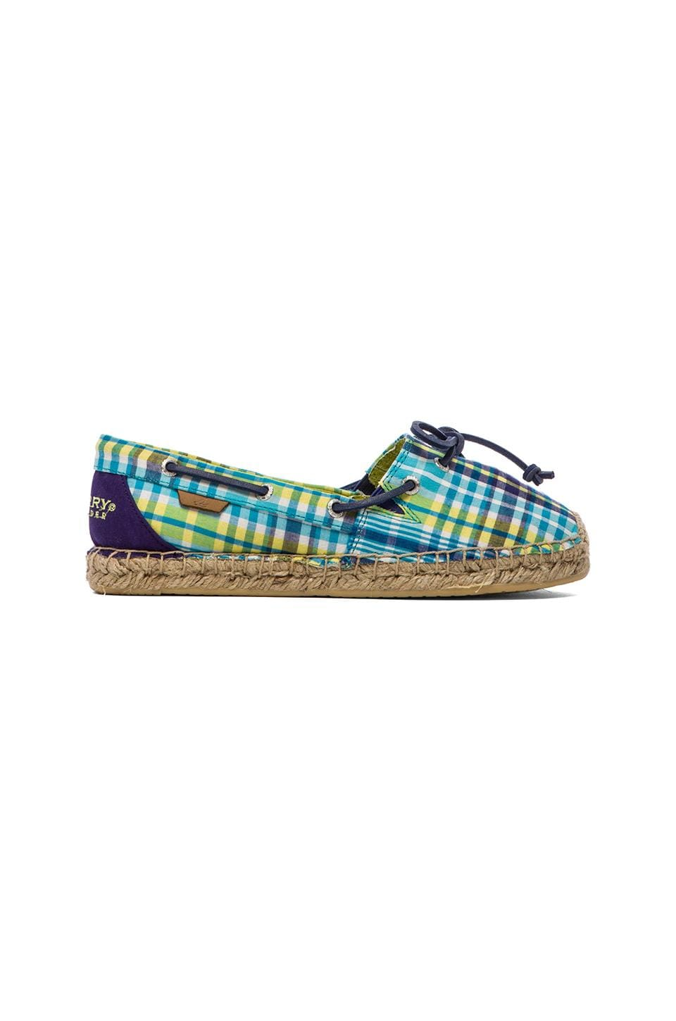 Sperry Top-Sider Katama in Blue Plaid