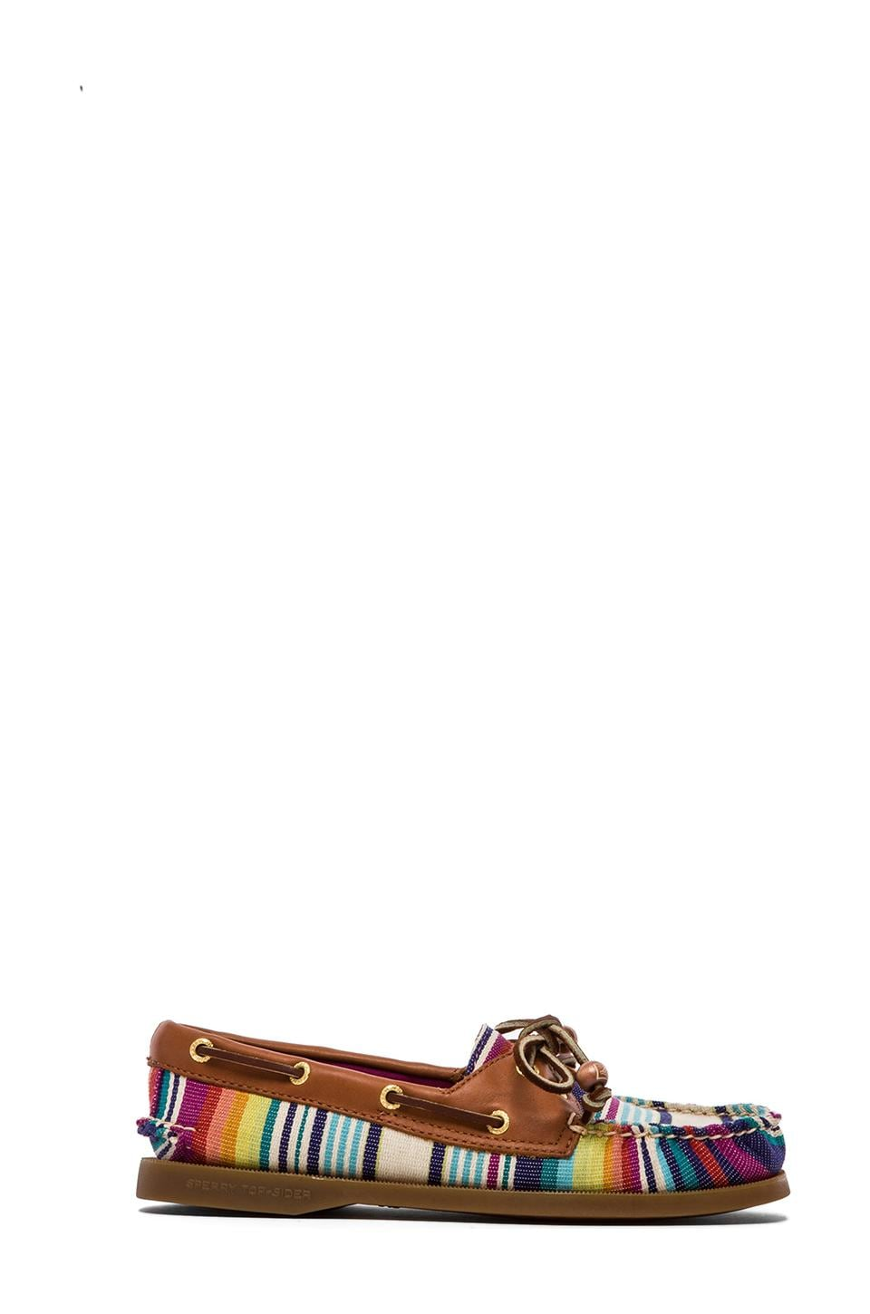 Sperry Top-Sider American Original A/O in Red Serape