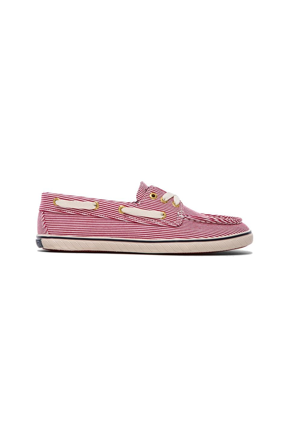Sperry Top-Sider Cruiser in Red & Ivory