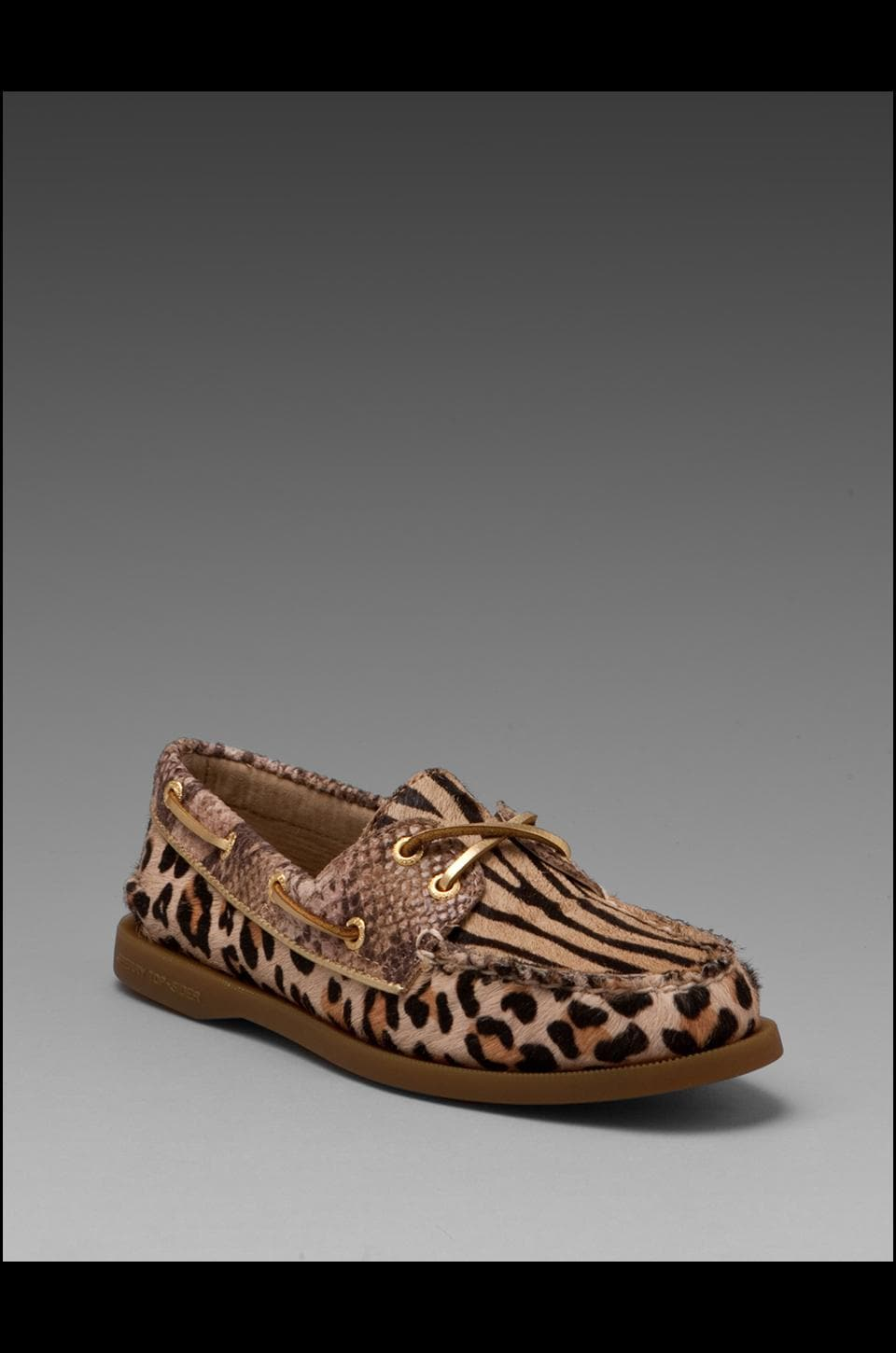 Sperry Top-Sider 2-Eye in Sand/Brown