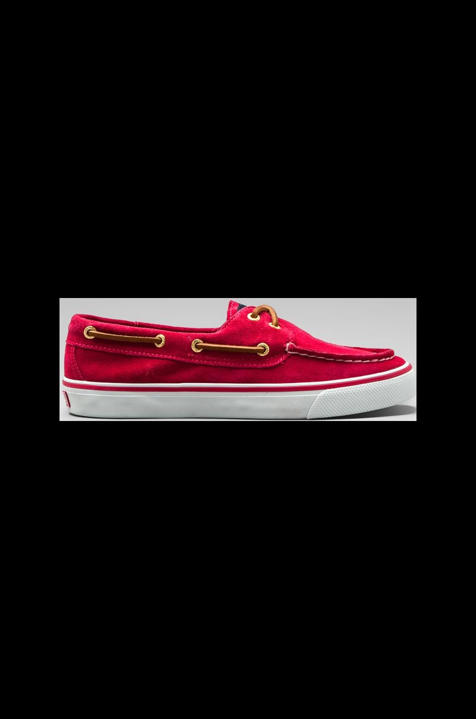 Sperry Top-Sider Bahama 2-Eye in Bright Pink Suede