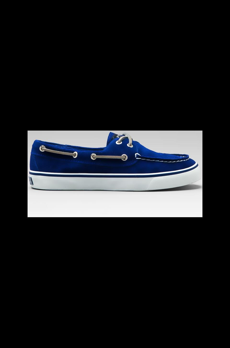 Sperry Top-Sider Bahama 2-Eye in Cobalt Suede