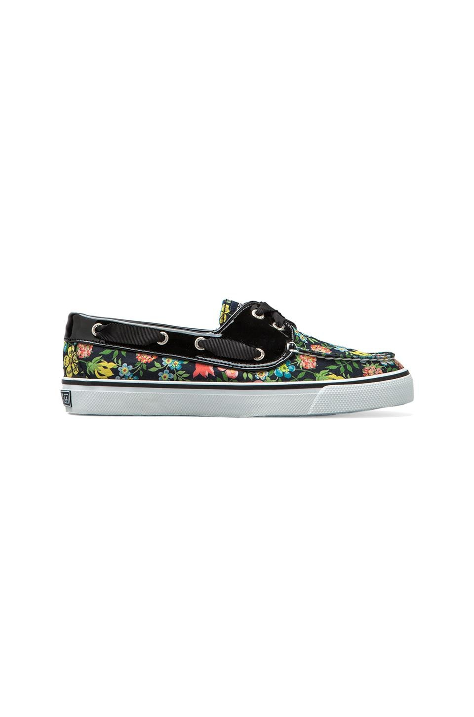Sperry Top-Sider Bahama 2-Eye in Black Liberty Floral