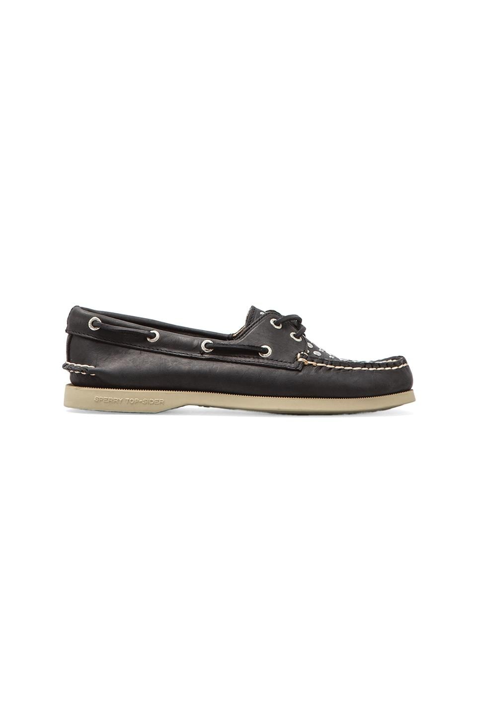 Sperry Top-Sider A/O 2-Eye in Black