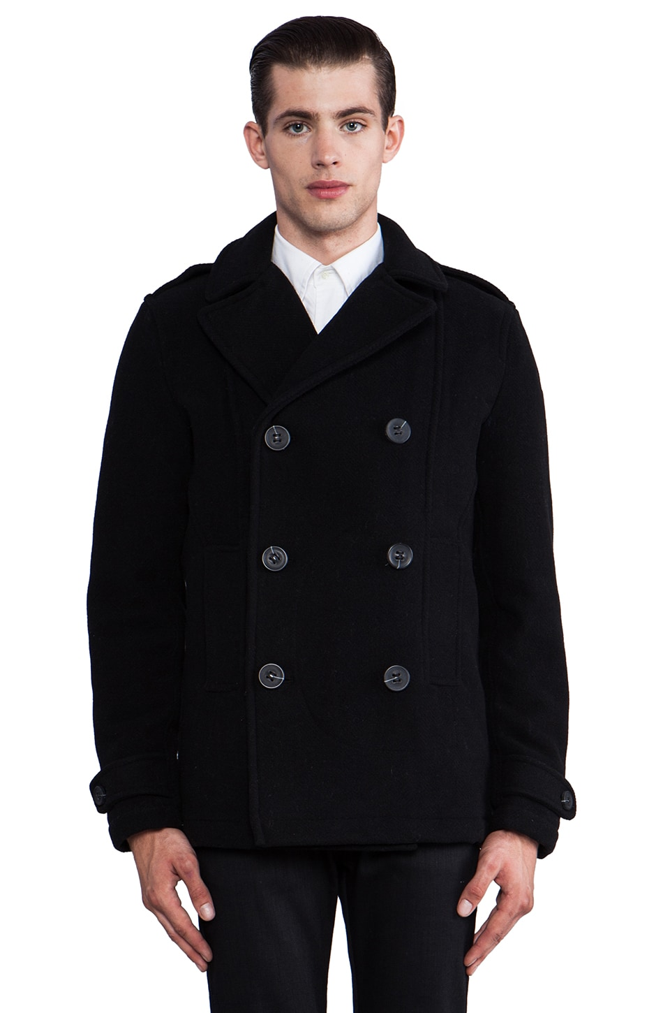 Spiewak Wilson Coat in Black