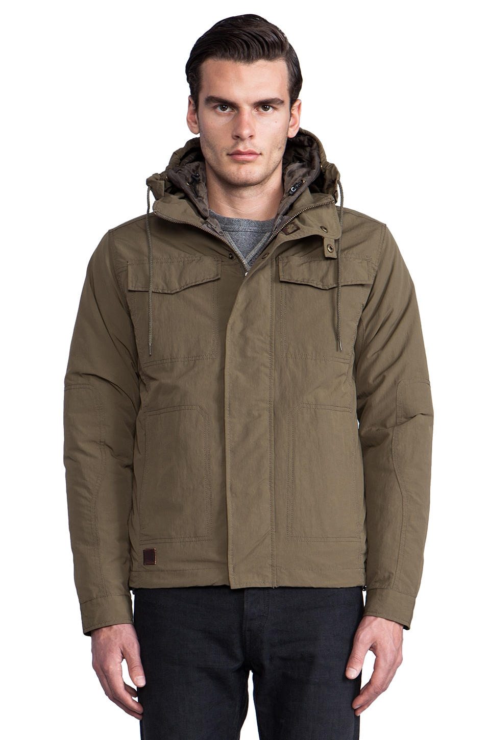 Spiewak Carson Field Jacket in Surplus Olive