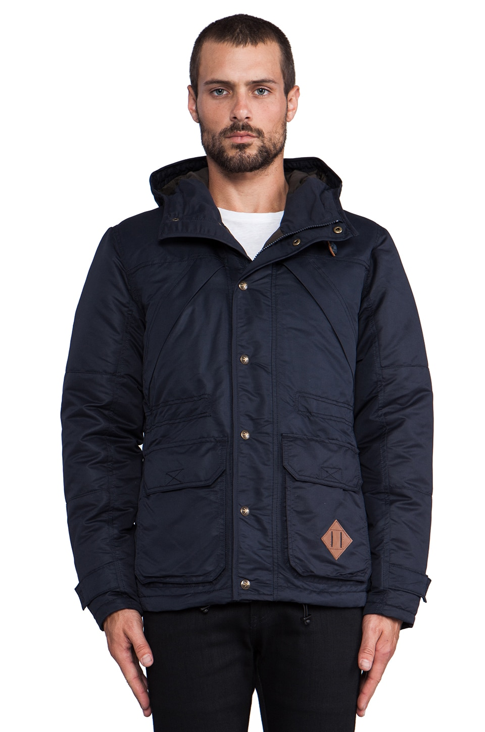 Spiewak Down Mountain Parka in Navy