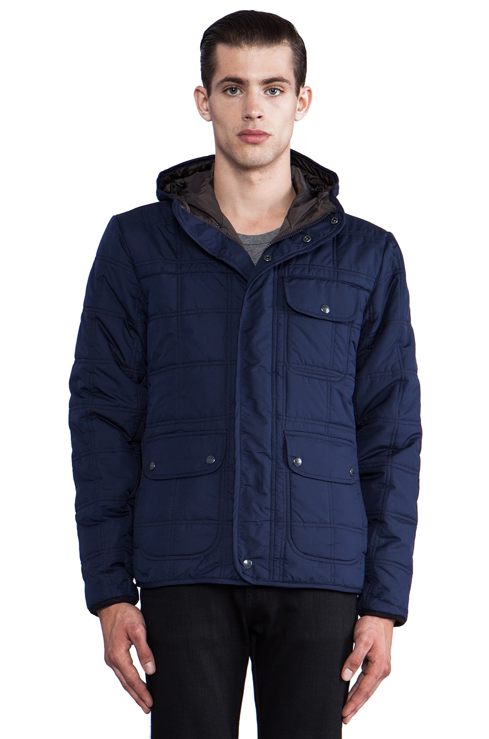 Spiewak Block Island Jacket in Patrol Navy