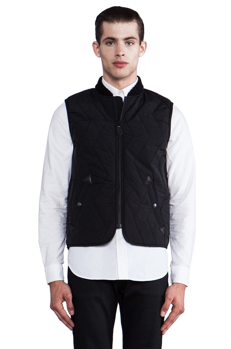 Spiewak Seneca Vest in Black