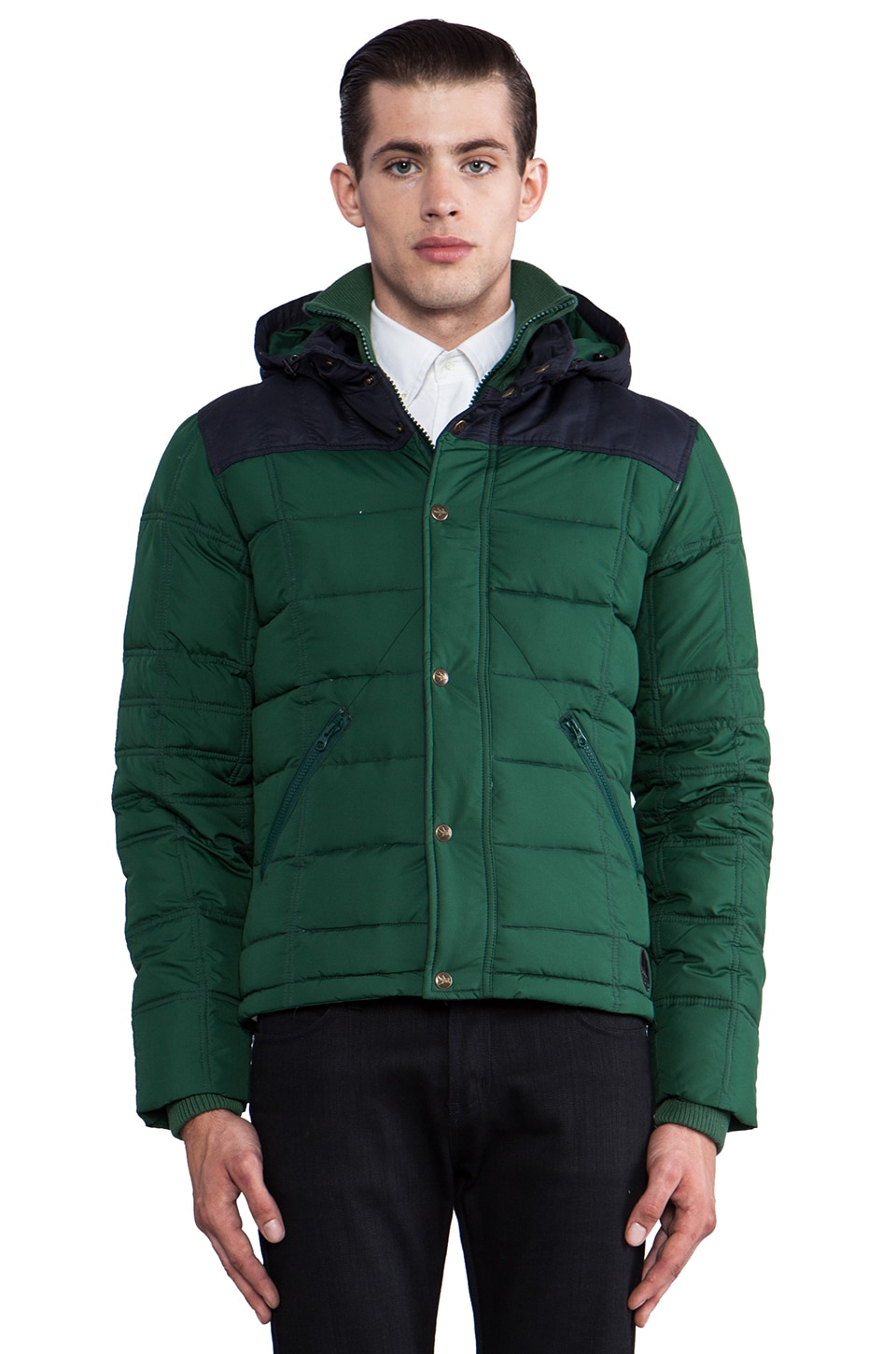 Spiewak Robinson Jacket in Evergreen