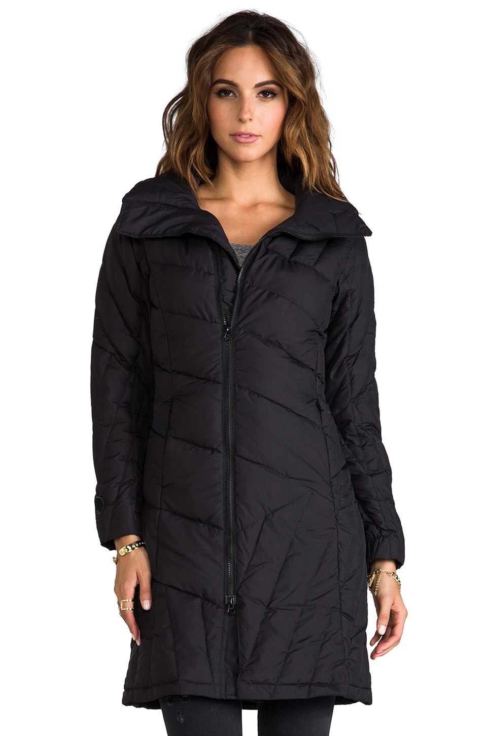 Spiewak Lockport Coat in Black