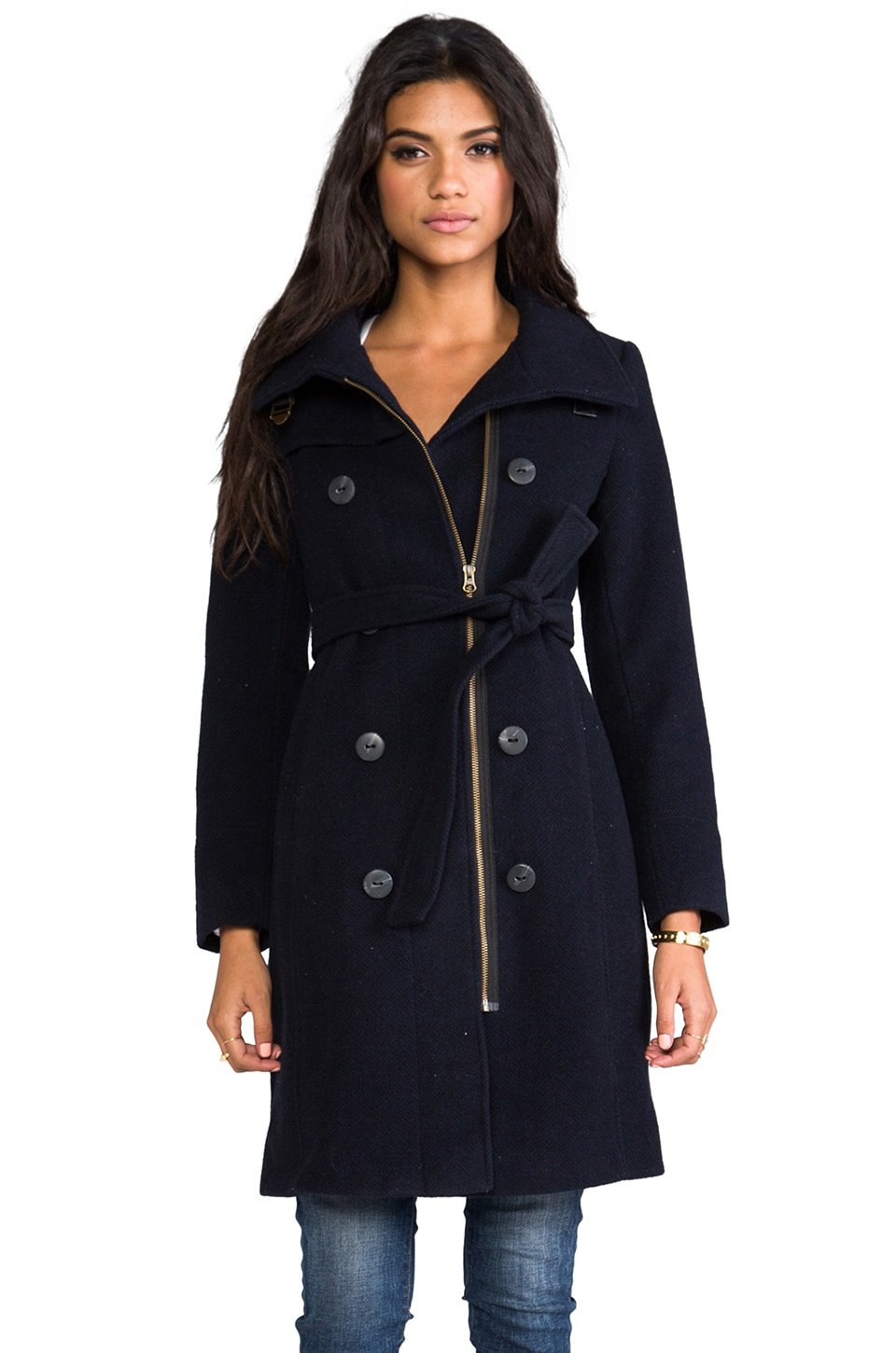 Spiewak Essex Trench in Navy/Black