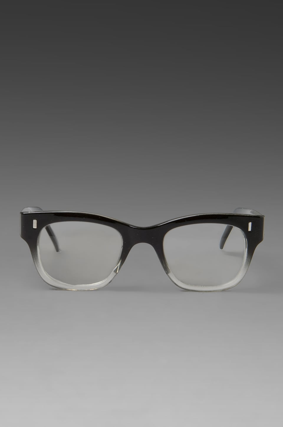 Spitfire MX1 in Black/Clear Frame/Clear Lens