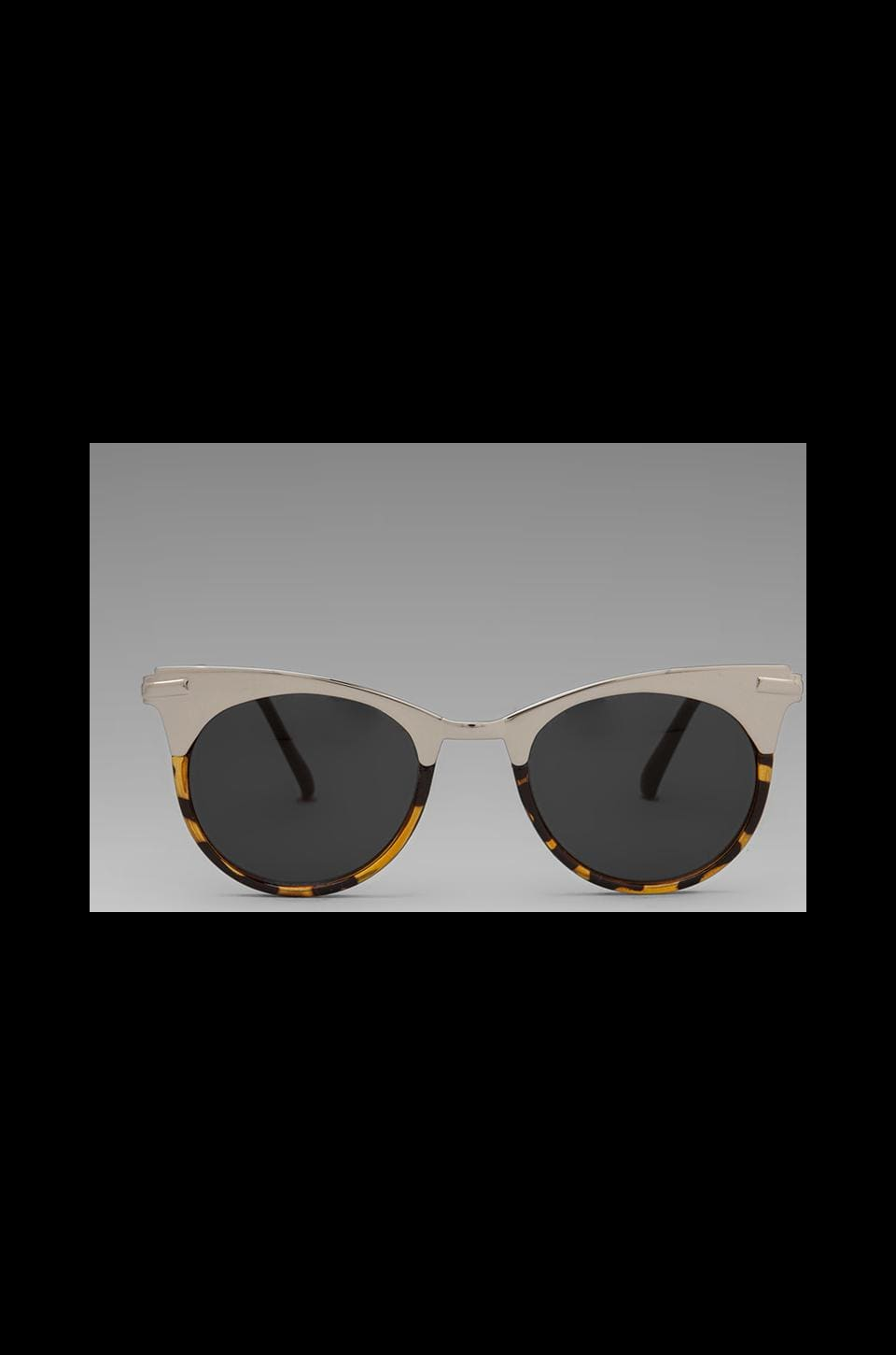 Spitfire Anglo 2 in Silver Tortoise Shell w/Brown