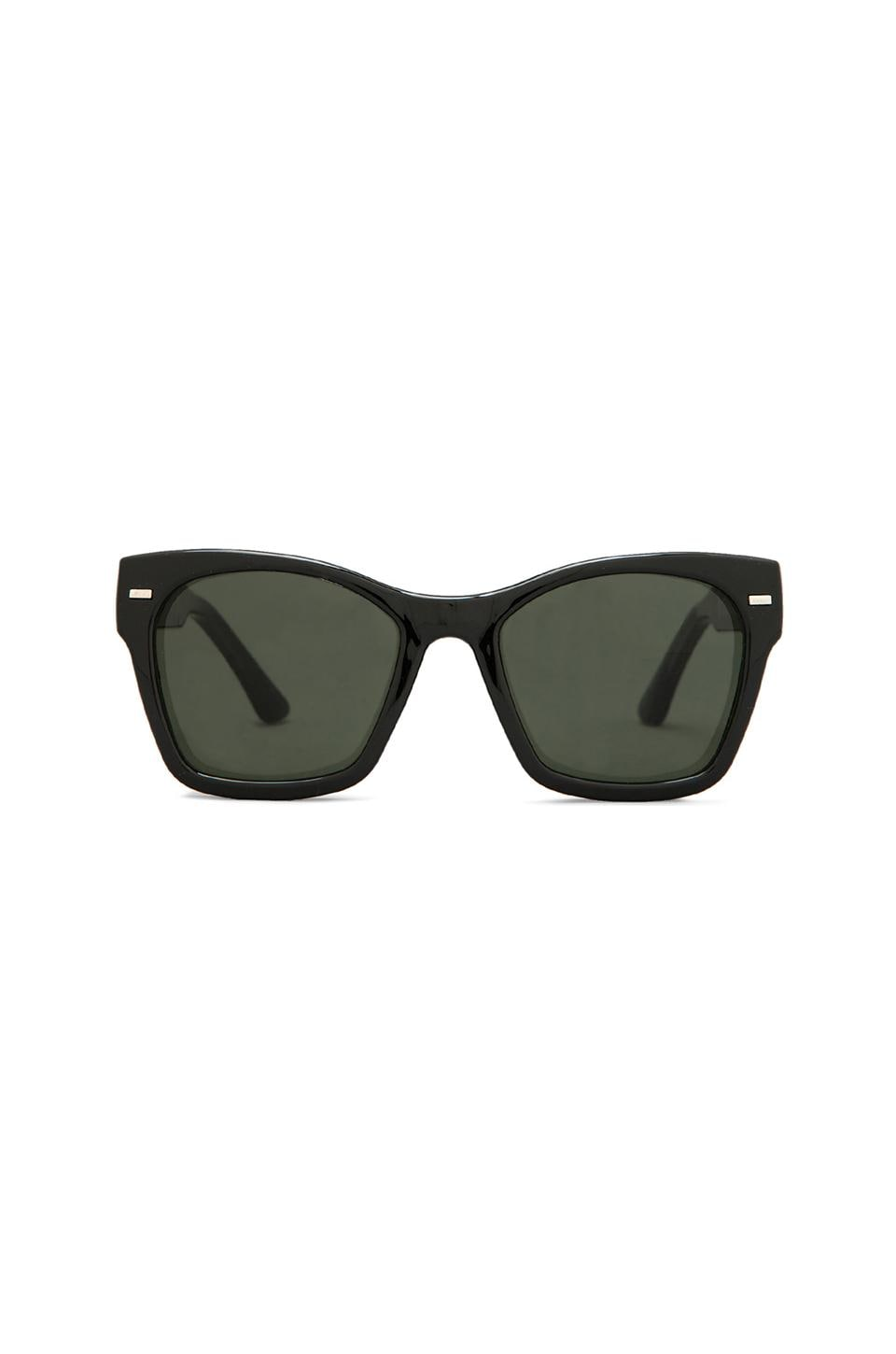 Spitfire Coco in Black w/ Dark Green