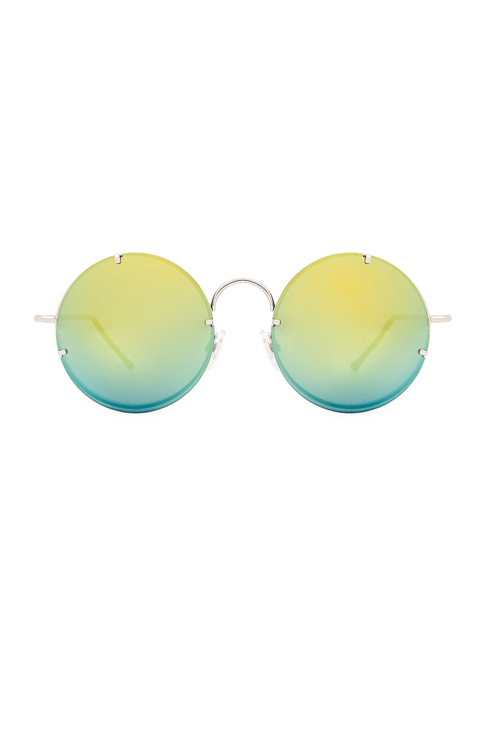 Spitfire Poolside in Silver & Gold Mirror