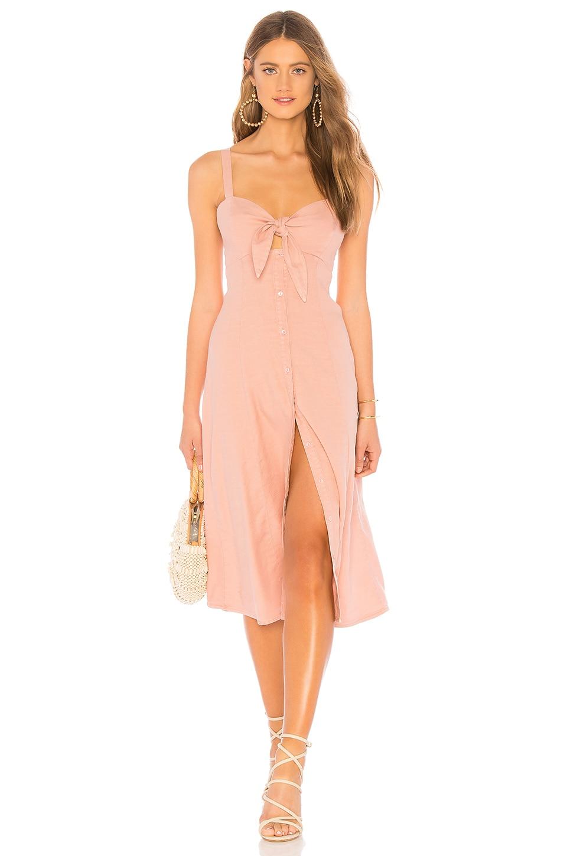 Dahlia Linen Slub Dress