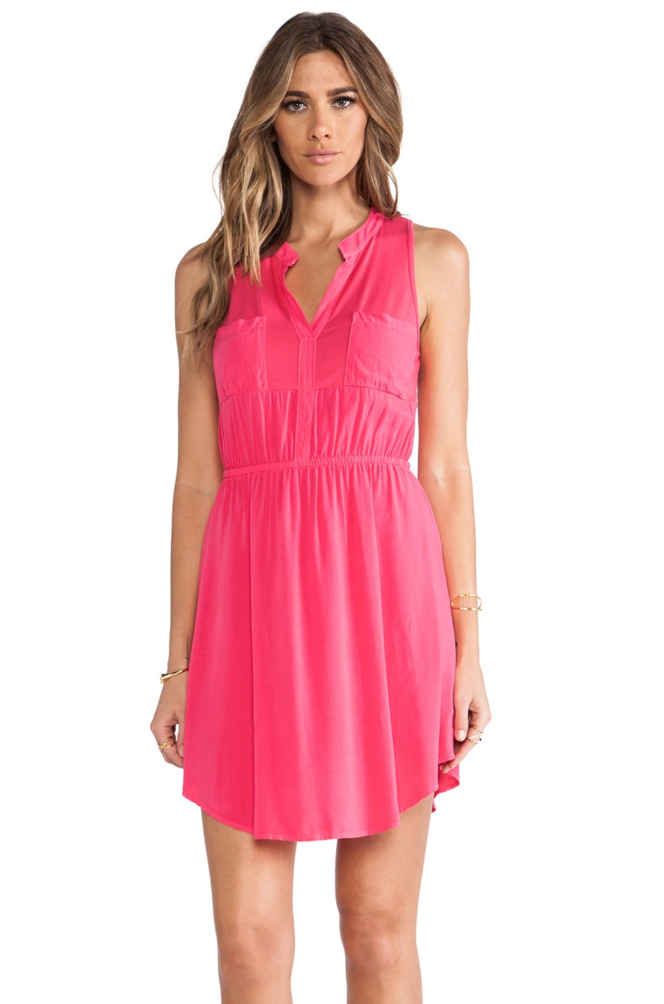 Splendid Dress in Flamingo