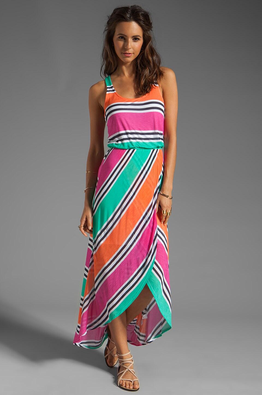 Splendid Cabana Stripe Dress in Parfait