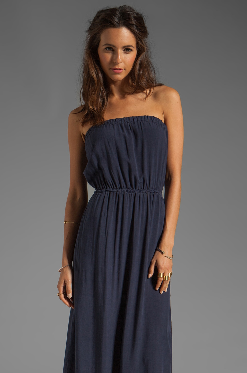 Splendid Maxi Dress in Navy