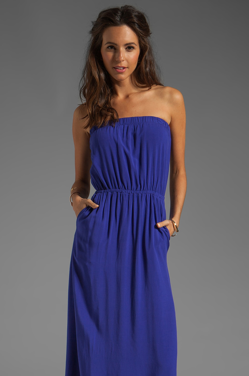 Splendid Maxi Dress in Cerulean