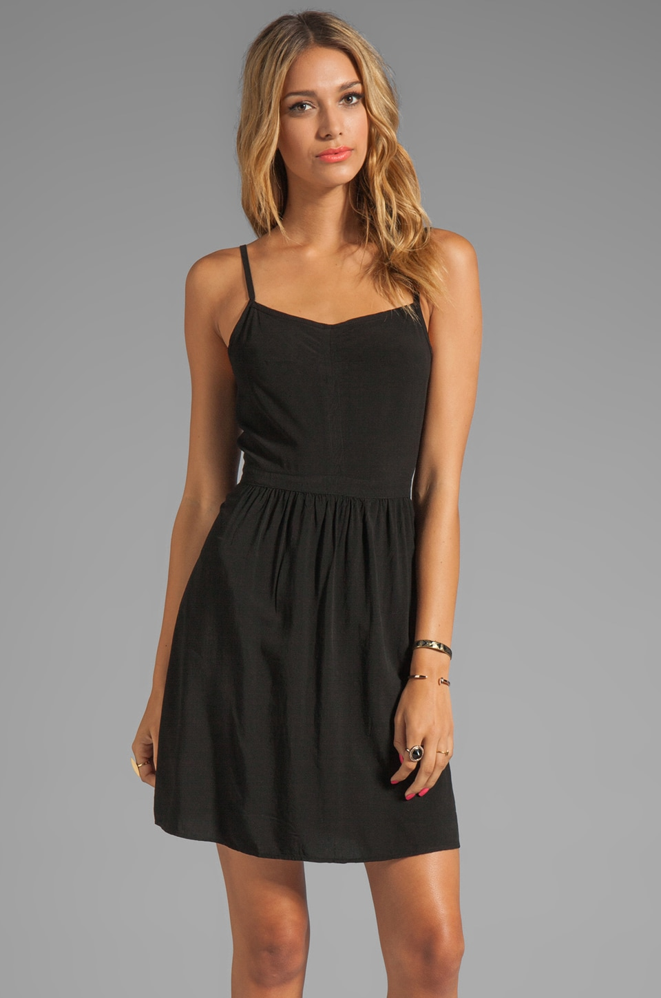 Splendid Tank Dress in Black