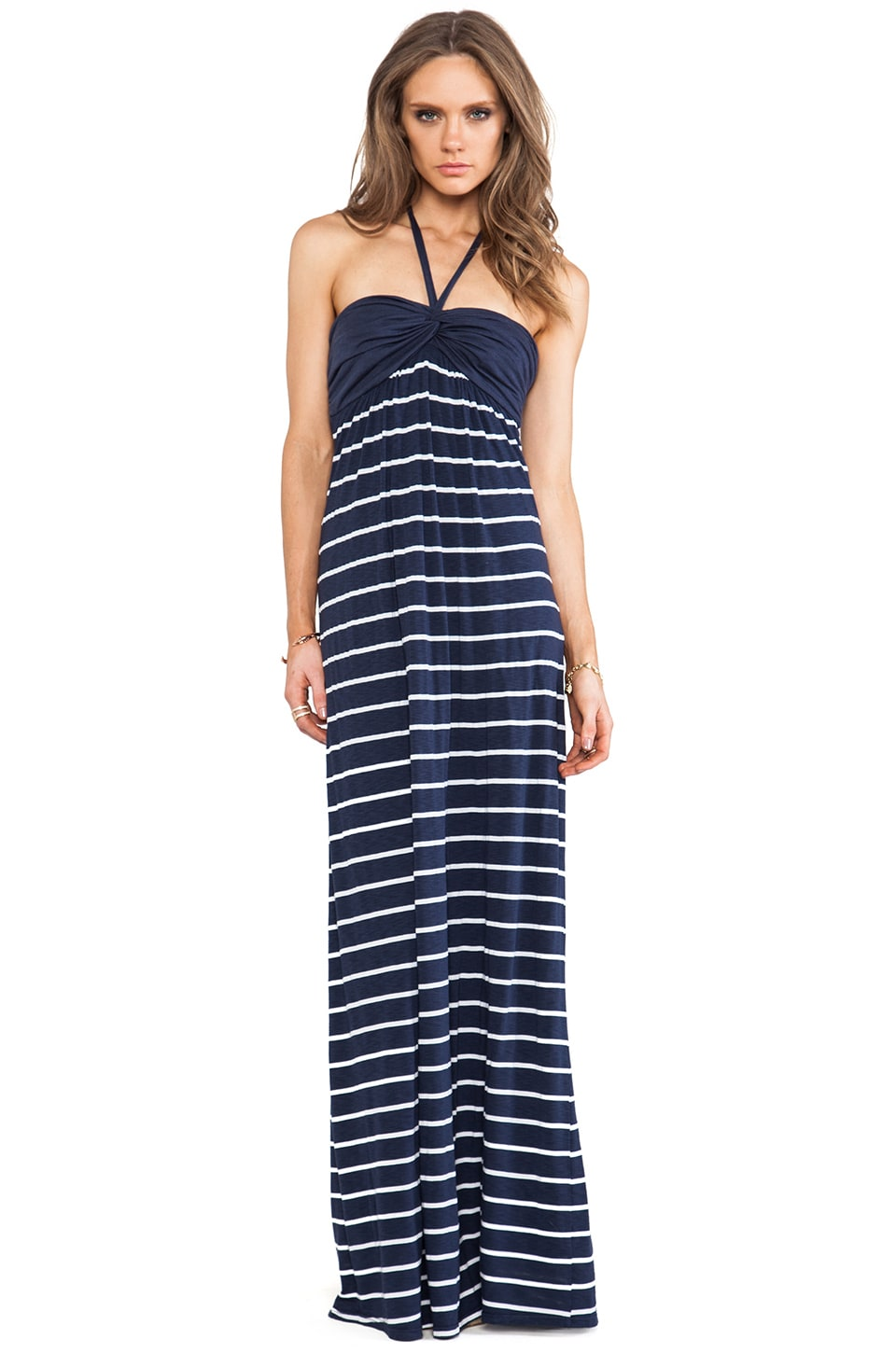 Splendid Stripe Maxi in Navy
