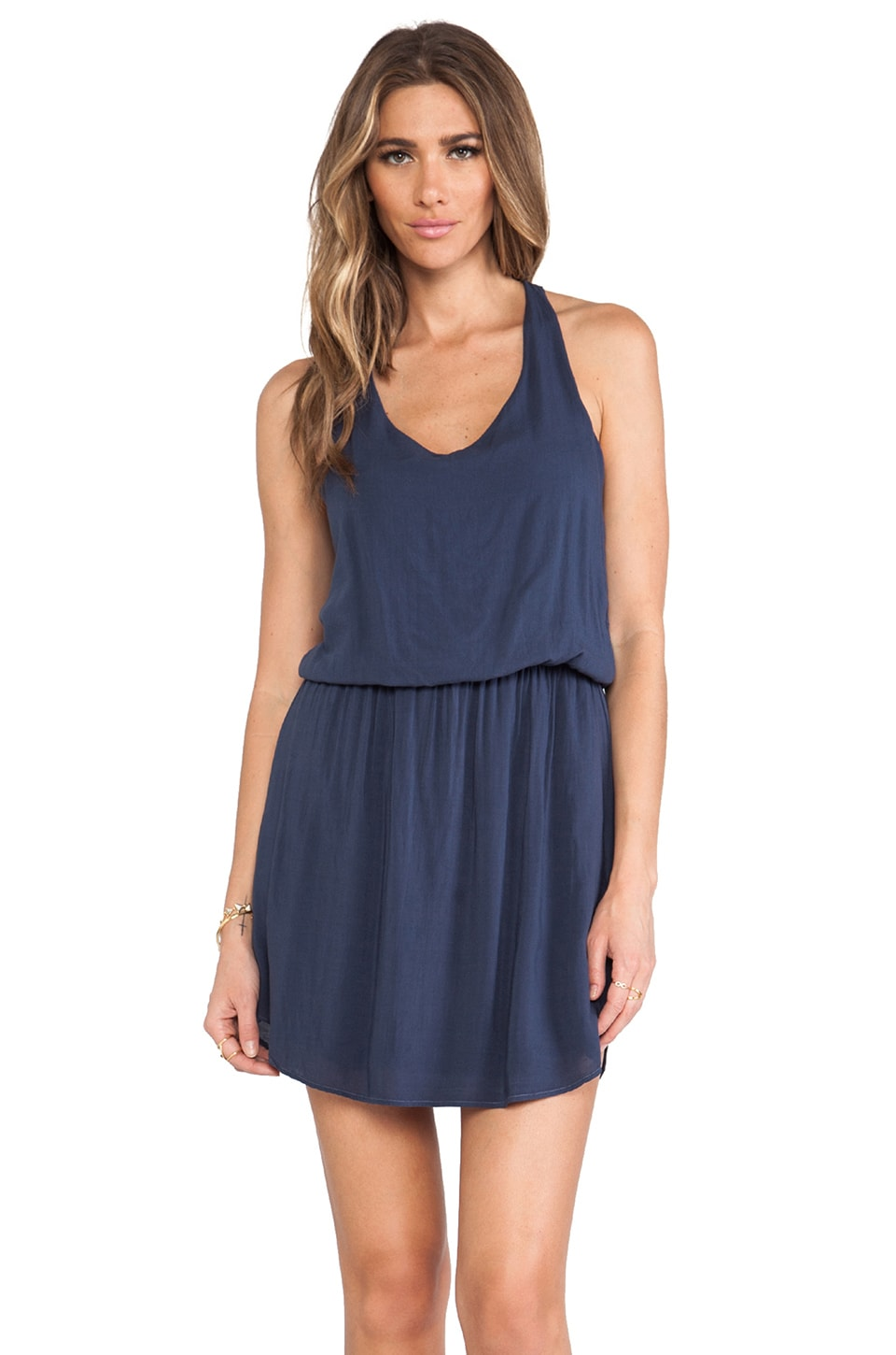 Splendid Tank Dress in Navy