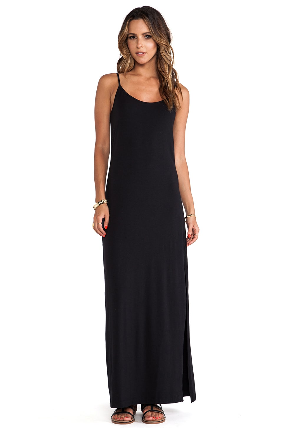 Splendid Splenid Maxi Dress in Black