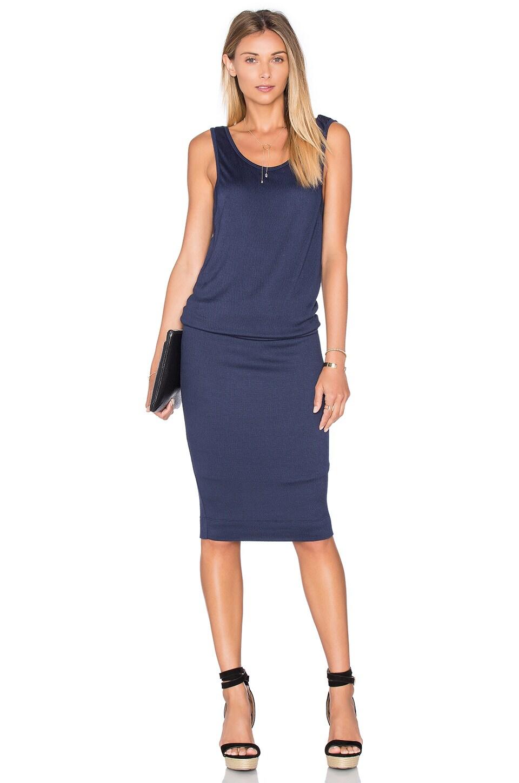 Textured Jersey Midi Dress by Splendid