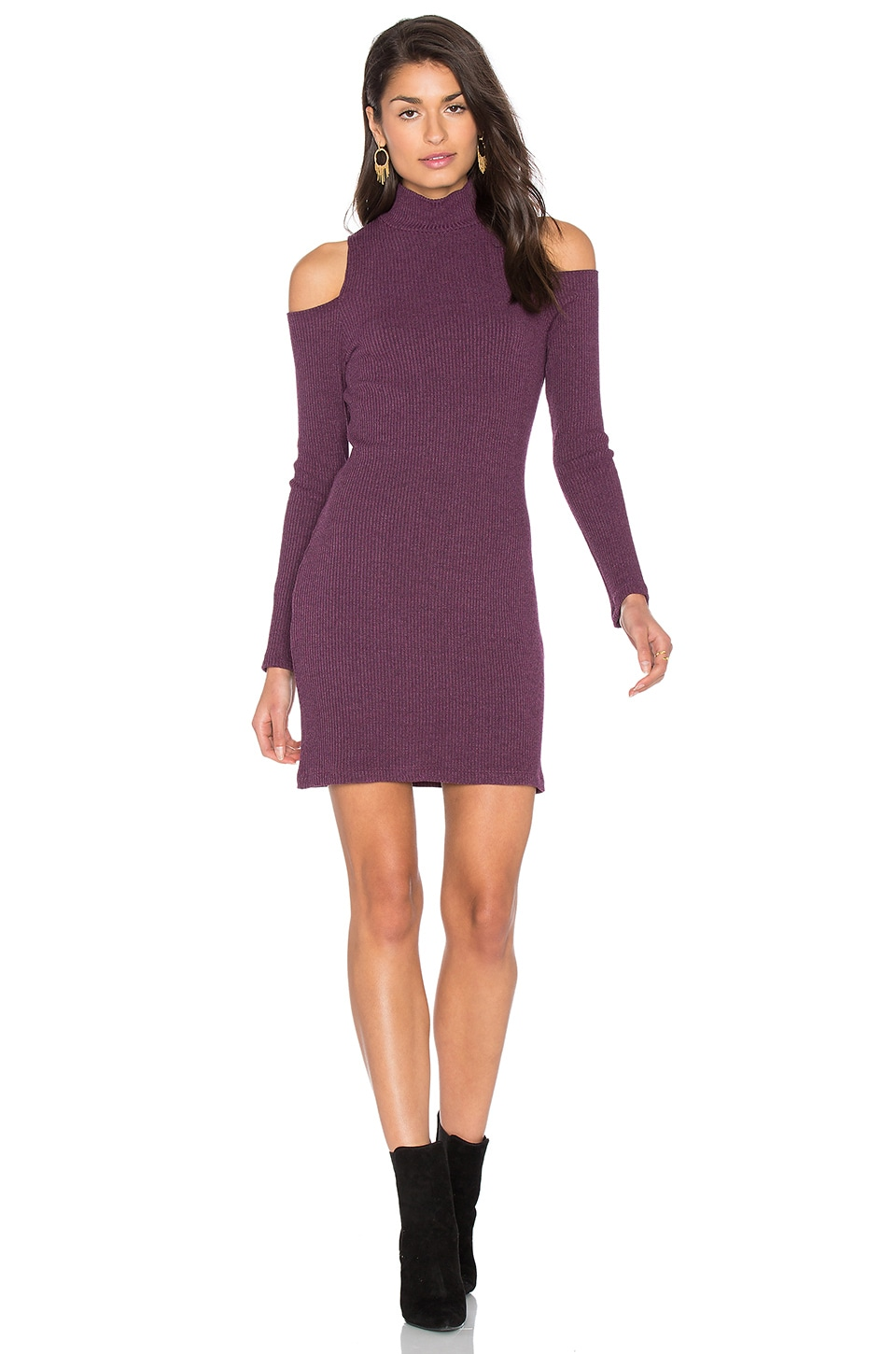 Waffle Loose Knit Mini Dress by Splendid
