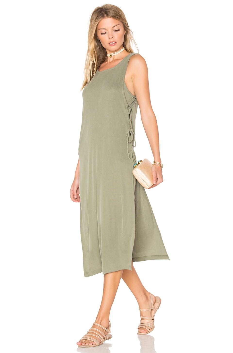 Sandwash Rib Dress by Splendid