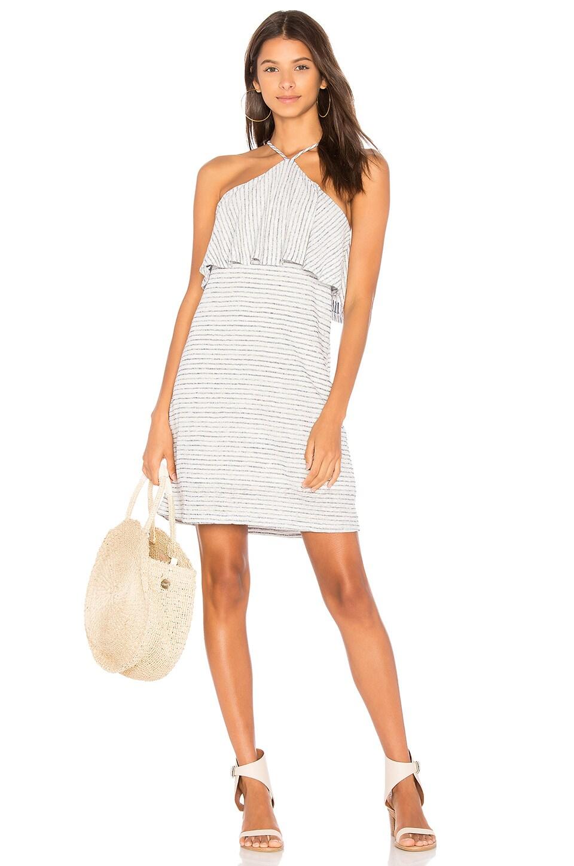 Linen Mini Stripe Dress by Splendid
