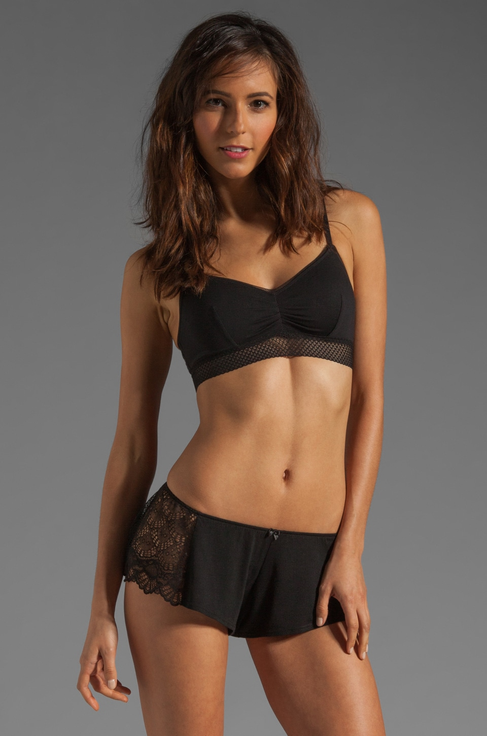 Splendid Essential Bralette in Black