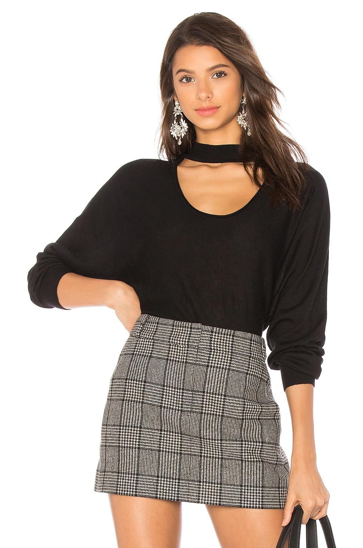 Splendid Kenton Two Way Sweater in Black