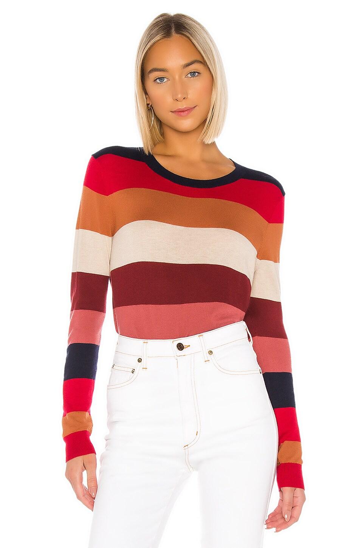 Splendid Duke Stripe Pullover in Duke Multi Stripe