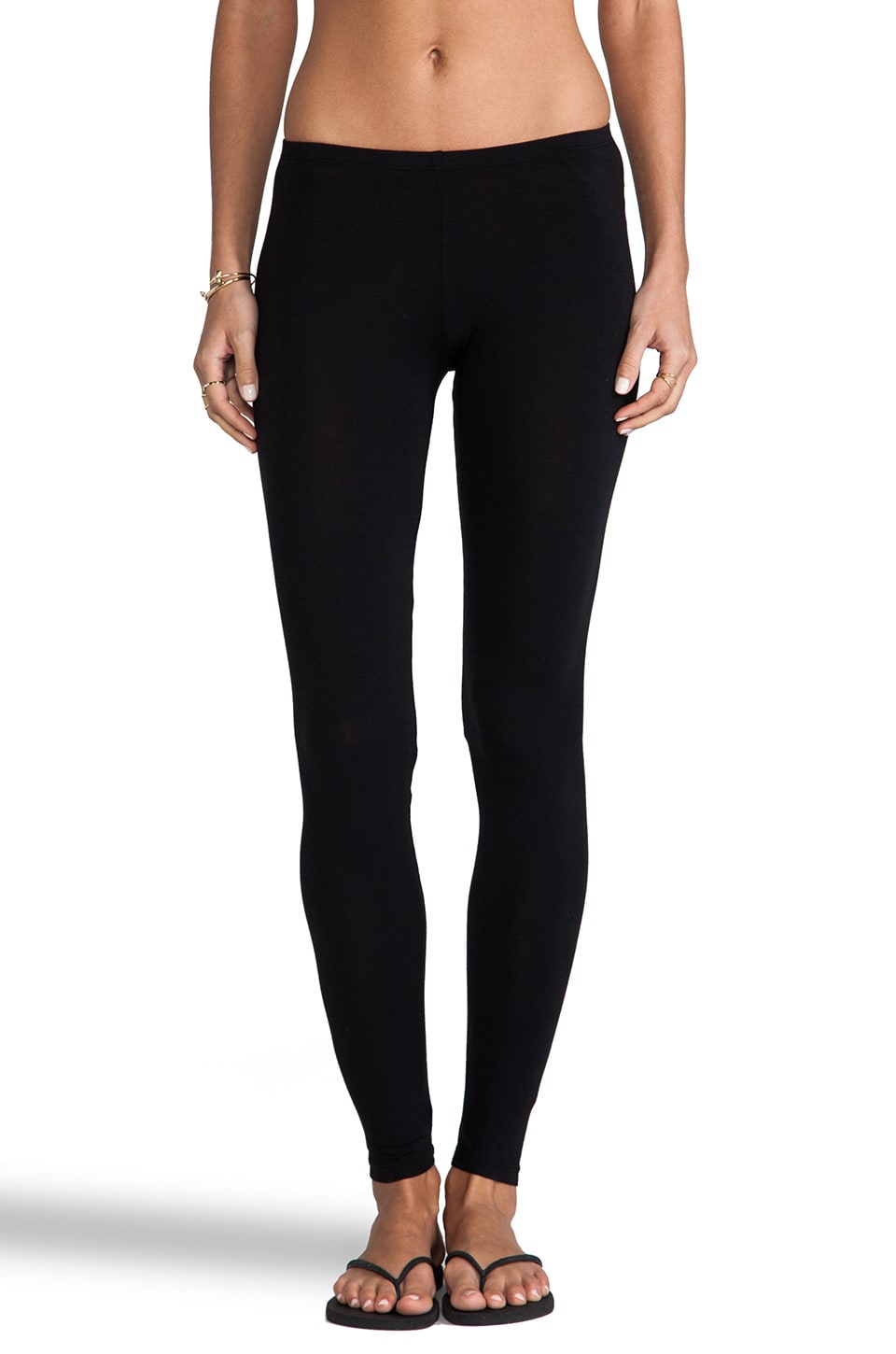 Splendid Modal Lycra Legging in Black