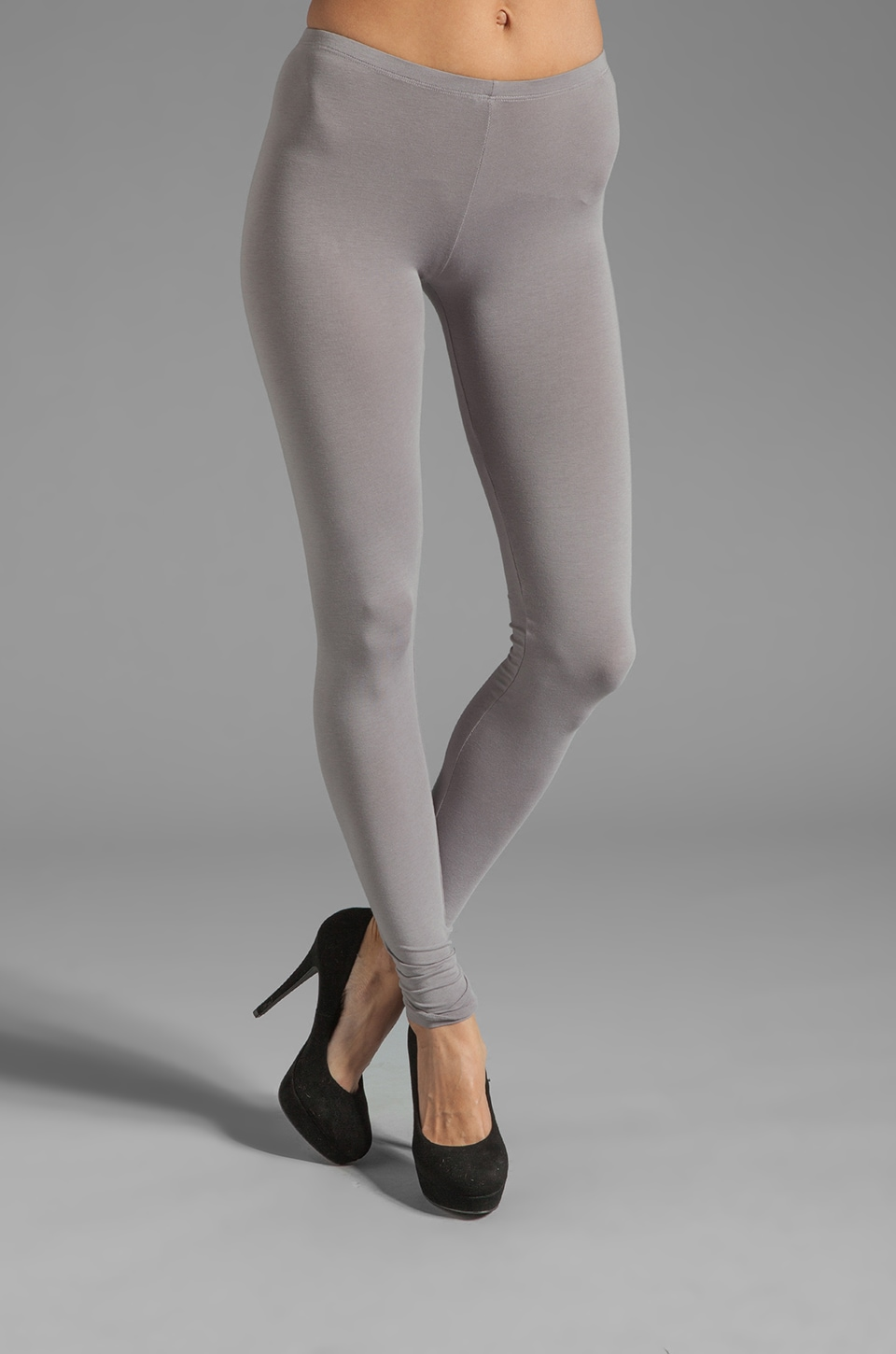 Splendid Modal Lycra Leggings in Storm