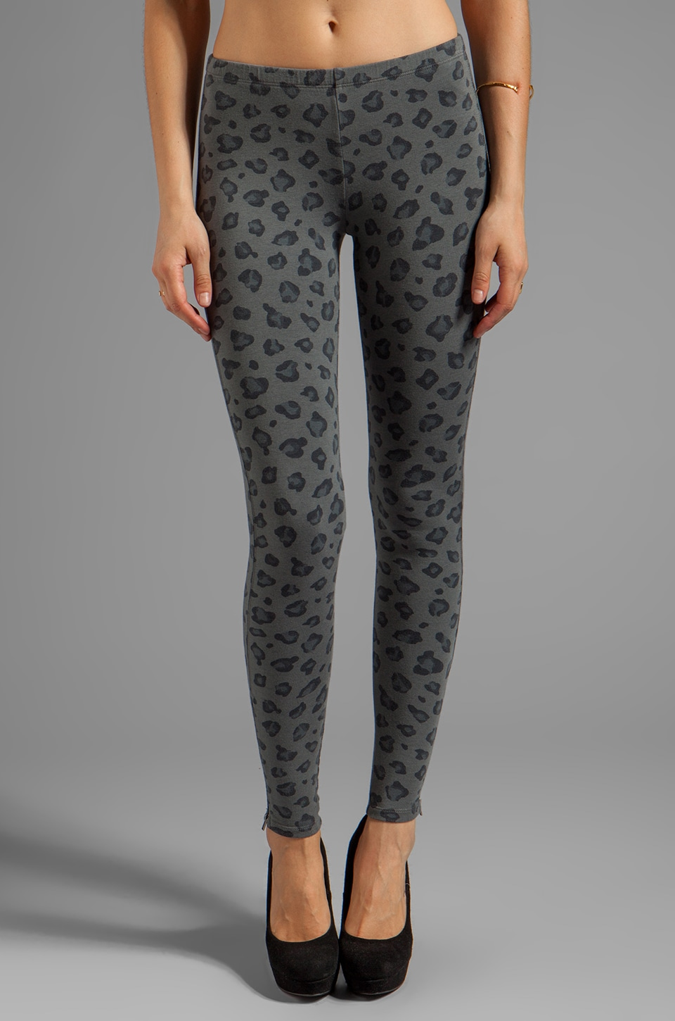 Splendid Novelty Printed Legging in River Rock