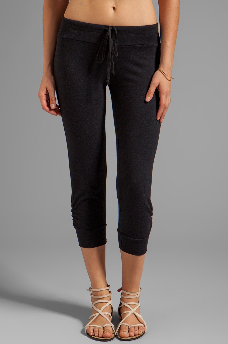 Splendid Malange Active Sweat Pant in Black