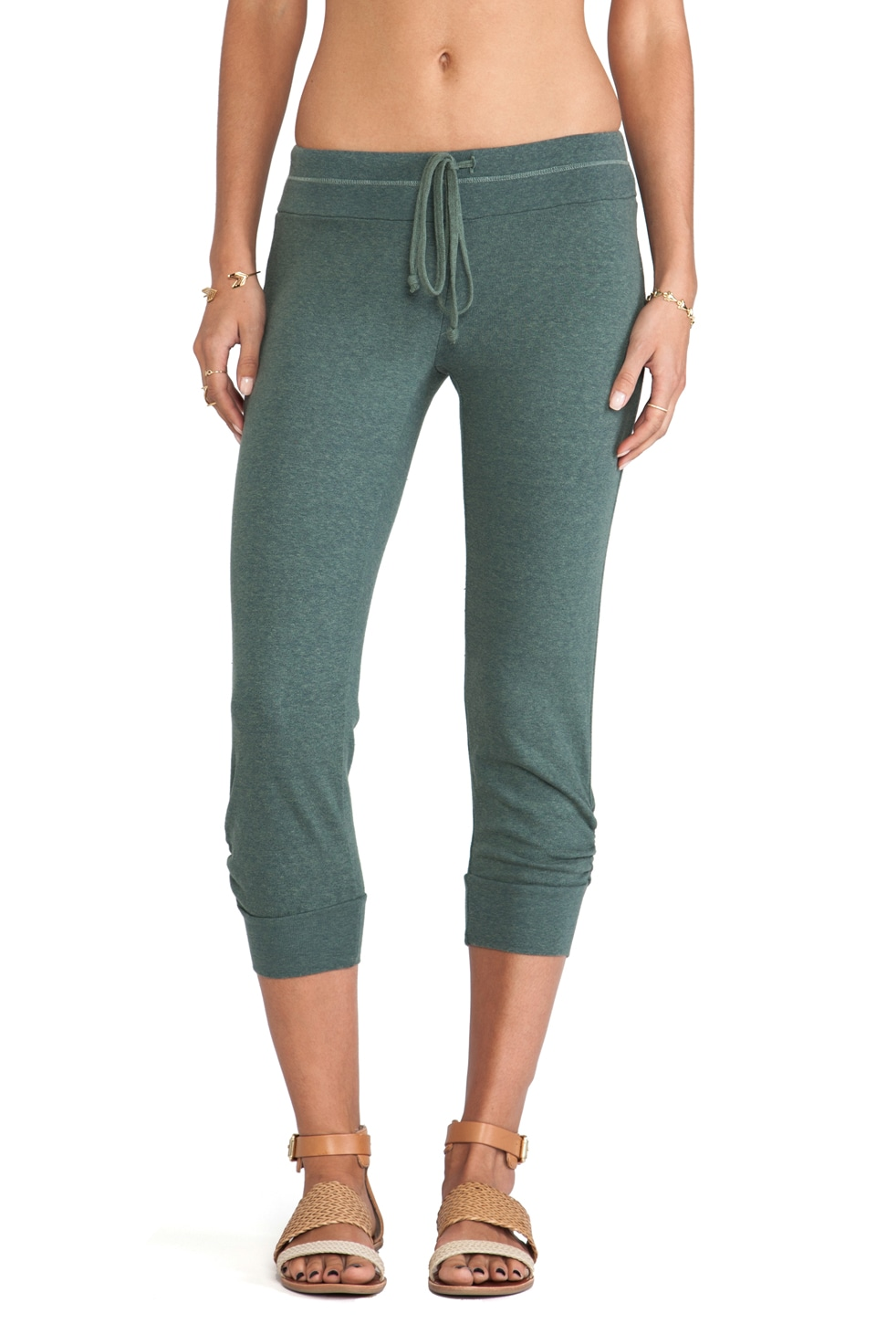 Splendid Sweat Pant in Camo Green