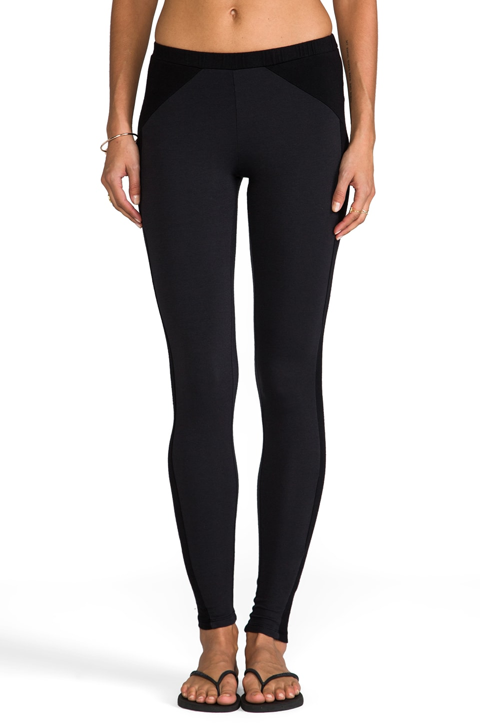 Splendid Downtown Leggings in Gunmetal