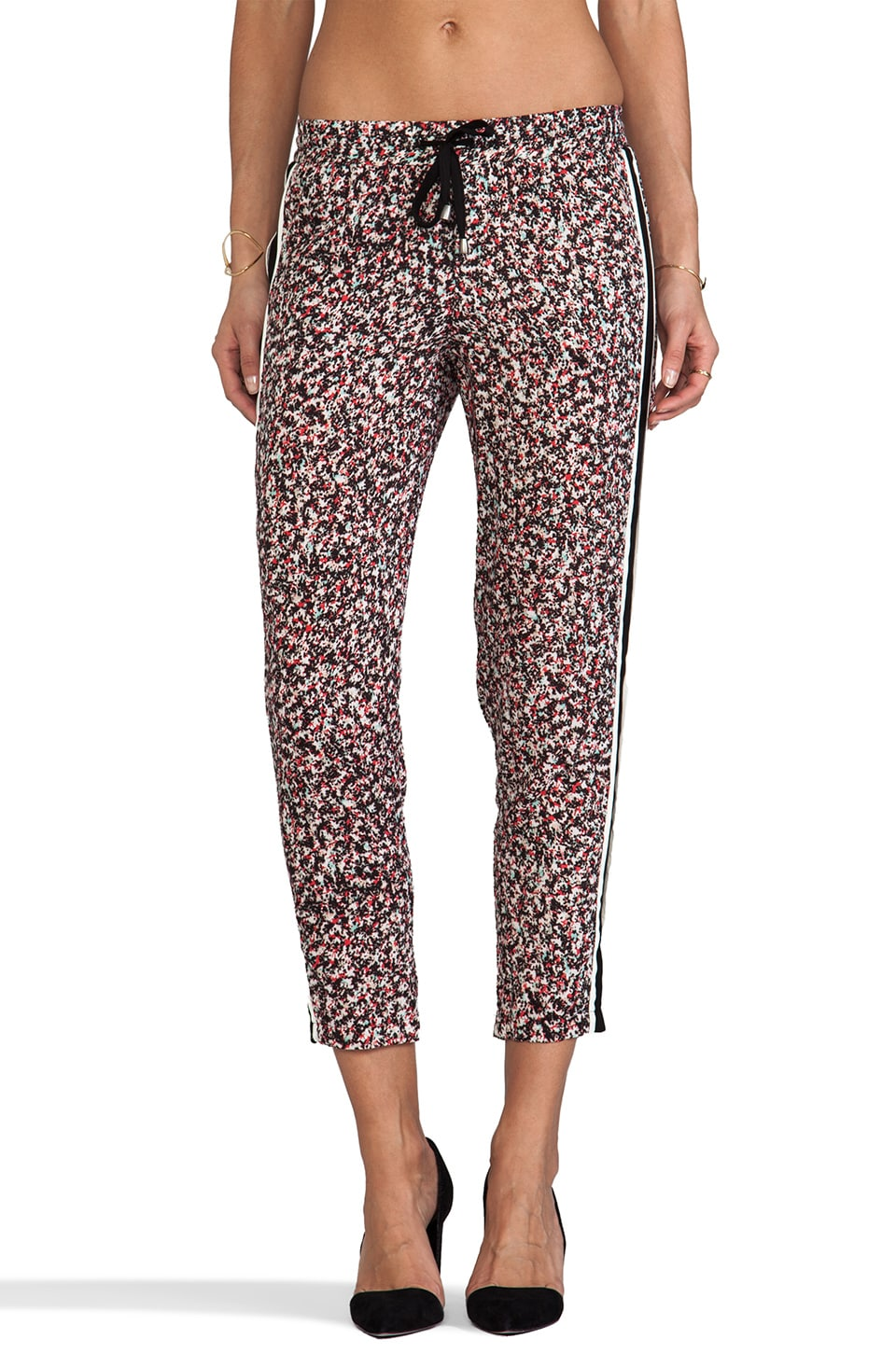 Splendid African Wildflowers Pant in Black