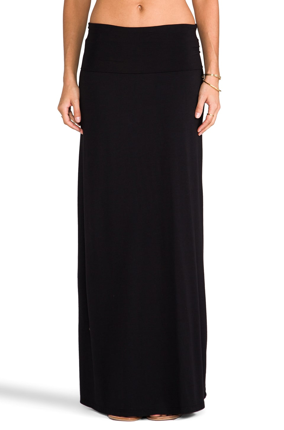 Splendid Maxi Skirt in Black