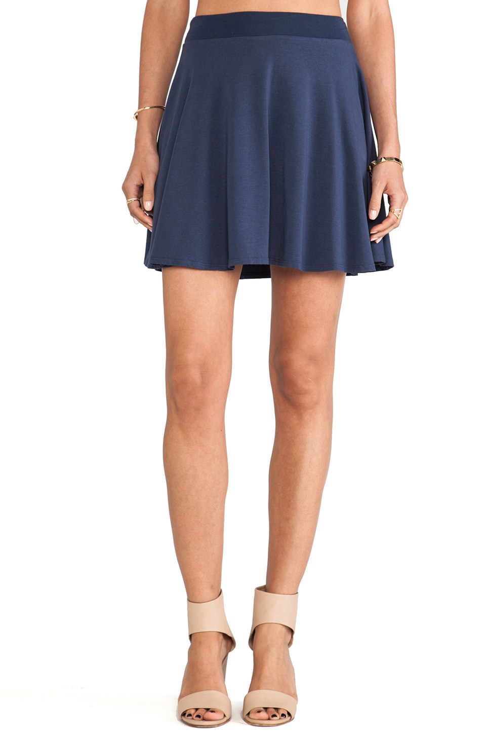 Splendid Mini Skirt in Navy